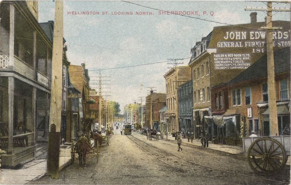 « Wellington St. Looking North. », Montreal Import Co., BAnQ (4765170).
