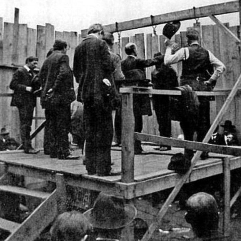 Dernière exécution à la prison Winter. Mai 1932